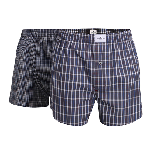 Boxershorts Tom Tailor - 2 Pack - Multi mörkblå (1)