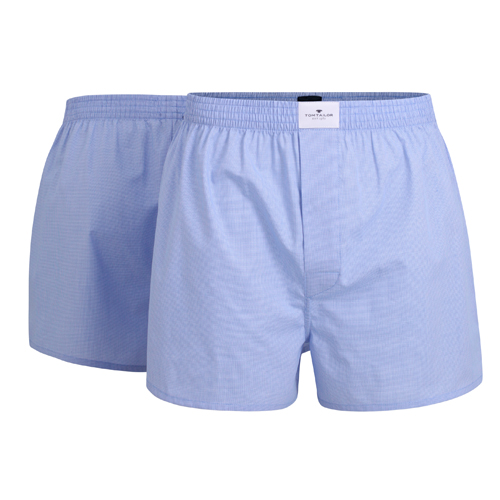 Boxershorts Tom Tailor - 2 Pack - Ljusblå (1)